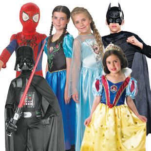 Picture for category Kid's licensed costumes
