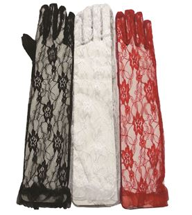 Picture of LACE FLOWER GLOVES