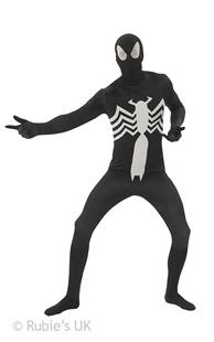 Picture of BLACK SPIDER MAN 2ND SKIN