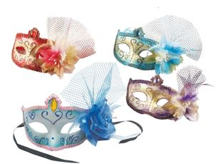 Picture of VENETIAN EYE MASK WITH FLOWER