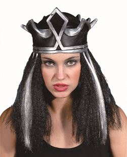Picture of EVIL QUEEN CROWN WITH WIG