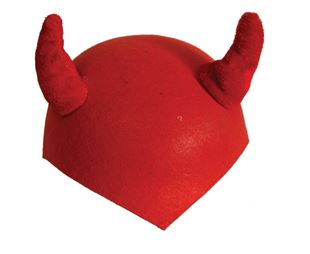 Picture of DEVIL'S CAP WITH HORNS