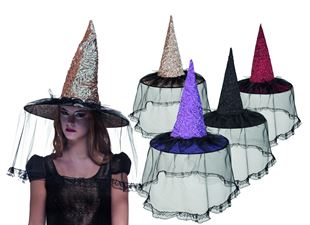 Picture of HAT WITCHVILLE 4 COLOURS ASS.