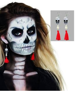 Picture of EARINGS SKULL
