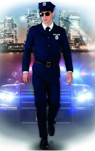 Picture of ADULT COSTUME POLICE OFFICER