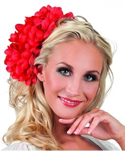 Picture of HAIR ACCESSORY DAHLIA RED