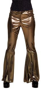 Picture of FLARE PANTS GOLD (M STRETCH)
