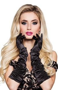 Picture of GLOVES ELBOW HOLLYWOOD BLACK