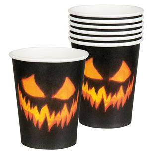 Picture of CUPS SCARY PUMPKIN