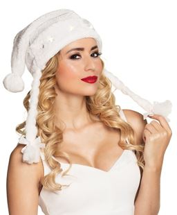 Picture of HAT SANTA WITH BRAIDINGS