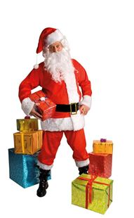 Picture of SANTA CLAUS COSTUME DELUXE