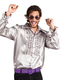 Picture of PARTY SHIRT SILVER