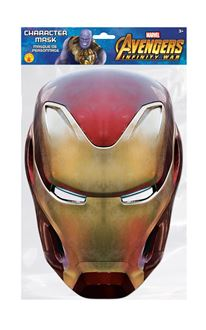 Picture of IRON MAN CHARACTER MASK