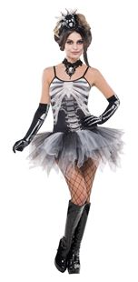 Picture of Ladies' Costume Black and BoneDress Size M
