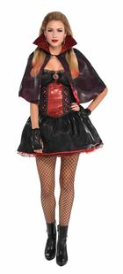 Picture of Ladies' Costume Dark Vamp