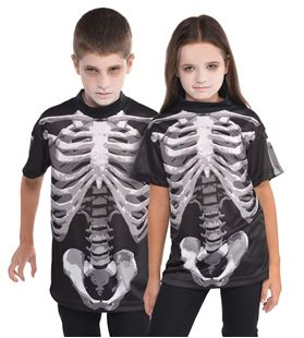 Picture of Children's Shirt Black & Bone 8 -1 0 Years