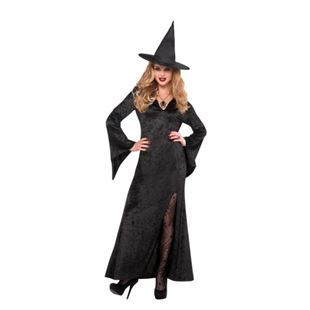 Picture of Lady's Costume Witch Black OneSize